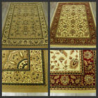HERITAGE RUG LARGE RED CREAM BEIGE TRADITIONAL RUGS SALE FLORAL SALE CLEARANCE