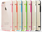 Slim Plastic Clear Transparent Full Back Case Cover Bumper For Apple iPhone 6