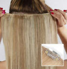 Clip On Human Hair Volumizing Extension System -  Add Extra Volume to Thin Hair