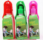 1xpet dog drinking bottle dog waterbowl pot folding 250ML color at random