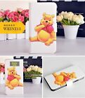Funny Cartoon Winnie the Pooh Tigger PU Leather Flip Case Cover For LG Google 3