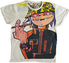 T-shirt Top Gorillaz 2D New - Sizes M - L - XL