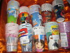 Cups Paper Party  Pooh Minnie Princess Tinker Bell Hero's Dora Iron Smurf Dragon