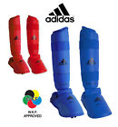 Adidas WKF PU Shin & Removable  Instep Foot Guards - 2012-21015 Approved