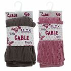 Girls I.L.C.K Cable Knit Tights Style- 46B164/1