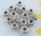 100/600pcs Tibetan Silver Spacer Beads Jewelry Charms 5x3mm Hole:2mm (Lead-free)