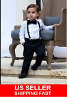 Внешний вид - Suspender and Bow Tie Matching Colors Baby Toddler Kids Boys Girls Child USA