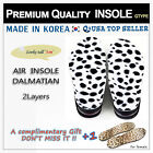 PREMIUM AIR INSOLES SHOES 5CM DALMATIAN INCREASE TALLER HEIGHT UP 신발 밑창 키높이 깔창