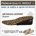 PREMIUM INSOLE LEOPARD 5CM FOR SHOE INCREASE TALLER 5CM HEIGHT UP 키높이 깔창 신발 밑창