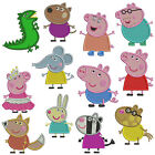 * PEPPA PIG * Machine Embroidery  Patterns * 12 Designs in 2 sizes