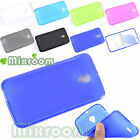 CUSTODIA COVER CASE IN SILICONE SEMITRASPARENTE PER SMART VODAFONE PRIME 6