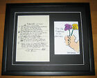 THE BEATLES John Lennon IN MY LIFE Hand Written Framed Lyrics PRESENTATION