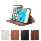 Genuine Real Leather Flip Wallet Stand Case Cover For Apple iPhone 6 /6 plus