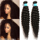 US Stock 6A Human Hair Extension 100g/Bundle Fashion Black Afro Curly Wave Weft