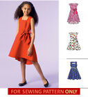 SEWING PATTERN! MAKE GIRLS FANCY DRESS~SUNDRESS! SPECIAL OCCASION~SIZE 3~6/7~14