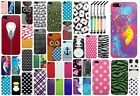 Apple iPhone 5/5S Snap On Hard Design Cover Phone Case + Cute Crystal Stylus