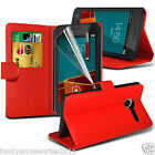 Vodafone Smart First 6✔Leather Phone Book Stand Wallet Phone Case Skin Cover+Pen