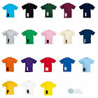 Fruit of the Loom Children's Plain T-Shirt Kids Unisex Age 2 to 13yrs