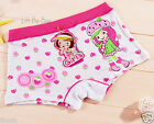 10PCS Cute Cartoon Modal Boxers Briefs Underwear Boyshorts for Girls Kids 3T-10T
