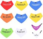 Dog Bandana Best Personalised Warning Message Pet Staffordshire Bull Terrier