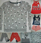PRIMARK LADIES PYJAMA SEPARATES FRENCH BULLDOG PYJAMAS 0R VEST SHORTS SET 6 - 20