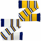 Leeds United Colours Football Gift Retro Bar Scarf (RRP £9.99!)