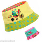 Bright Baby Toddler Bucket Sun Hat Boy Girl Cap Cotton Kids Child 6 mnths - 3yrs