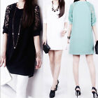 MO Sexy Hot Women Lace Floral Mini Dress Casual Short Evening  Party Dress UMS