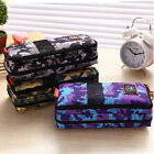Camouflage Student Pencil Pen Case Cosmetic Pouch Pocket Brush Makeup Box Bag