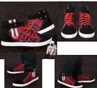 Tokyo Ghoul Kaneki Ken Athletic-Inspired Canvas Shoes Anime Cosplay Limit Casual