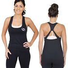 $5 GSIX Singlet Crop Gym Top NEW Ladies Fitness Active Wear Size 8 10 12