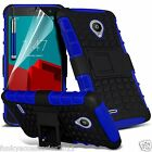 Shock Proof Dual Layer Kick Stand Builders Phone Case for Vodafone Smart Prime 6