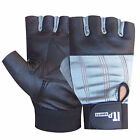 Gym Leather Weight Lifting Gloves Body Building Exercise Fitness Gloves S TO XXL