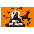 Halloween Flag 5 foot x 3 foot, choice of 3, will fly on a windsock pole