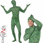 Grass Second Second 2nd Skin Leaf Suit Camouflage Fancy Dress Costume New Camo