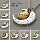 Best Gift Family I LOVE YOU TO THE MOON AND BACK Necklace Charm Pendant CA74