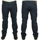 MENS JEANS DUCK & COVER REGULAR SLIM FIT 3D RAW COLOUR JEANS 32 TO 36