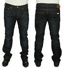 MENS JEANS DUCK & COVER REGULAR SLIM FIT DARK USED COLOUR JEANS 32 TO 36