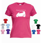 'I Love my Smart Car' Pure Pulse Passion Smart for Two Ladies Funny T-shirt Tee