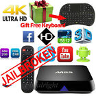 4K M8S Android 4.4 Smart TV Box S812 Quad Core Fully Loaded + Keyboard