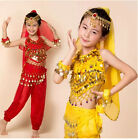 new beautiful Indian dance dress costumes suit Children's belly dance costumes