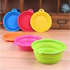 Fashion Pet Dog Cat Collapsible Portable Travel Bowl Feeding Food Bowl Water Cup