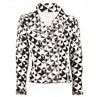 Iro Otavia Quilted Jacket In Black And White