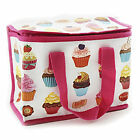 Lunch Bag Cupcake Design School Packed Lunch Picnic Drinks Easy Clean