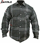 Divalo Motorbike Shirts Black - With Kevlar Lining Inside