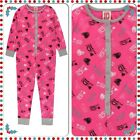 One Direction Girls All In One Onesie Pyjamas Lounge Wear Nightwear