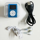 MP3 Music Player With Digital LCD Screen Mini Clip Support 32GB Micro SD TF фото
