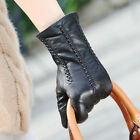Fashion Women Italian Genuine Kid Leather Gloves best match for your hand bags!!