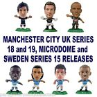 MANCHESTER CITY MicroStars - Series 18 and 19, MicroDome and Sweden Series 15