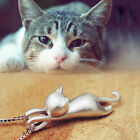Fashion Jewelry S925 Sterling Silver Lovely Animal Cat Pendents Women Necklace